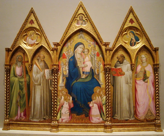 agnolo-gaddi-madonna-enthroned-with-saints-angels