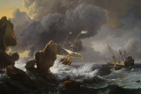 ludolf-backhuysen-ships-in-distress-off-a-rocky-coast