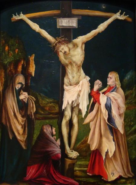 matthias-grunewald-the-small-crucifixion