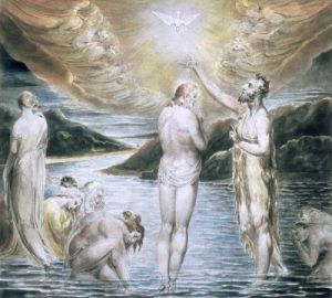 william-blake-the-baptism-of-christ