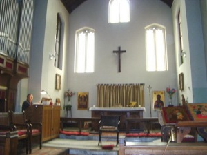 Biserica Anglicana - interior