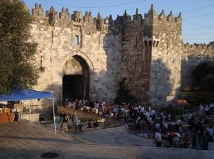 Ierusalim - Poarta Damascului