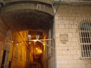 Ierusalim - Via Dolorosa noaptea