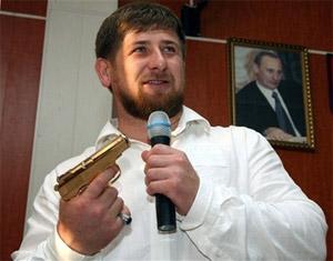 Ramzan Kadirov w. gun