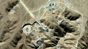 Iran secret nuclear site