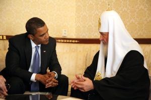Obama & Kirill