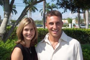Tullian Tchividjian and his wife, Kim