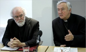 Rowan Williams & Vincent Nichols