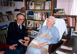 Feri bácsi and Richard Wurmbrand in Glendale, California, 1998