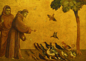 St Francis Preaching to Birds
