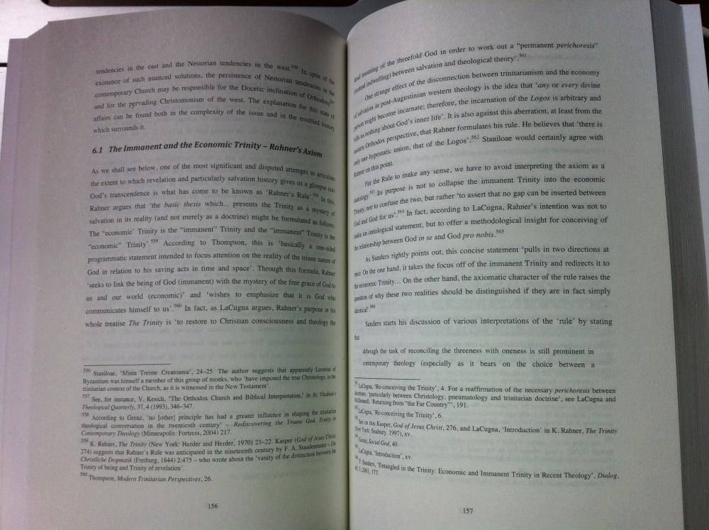 Am primit in sfirsit un exemplar al tezei de doctorat publicata in Germania (2/2)