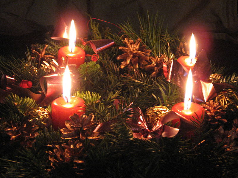 4th advent candle
