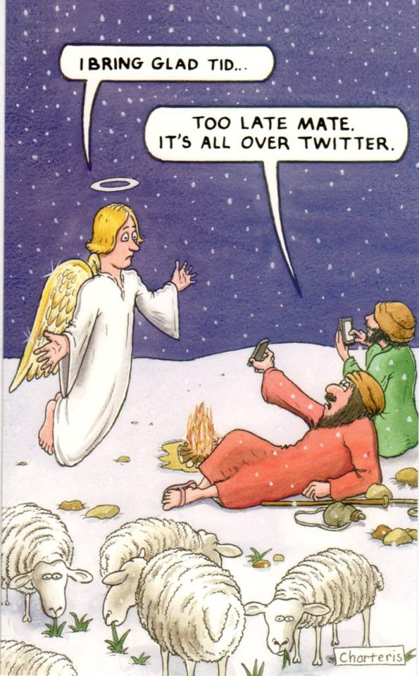 good tidings on twitter