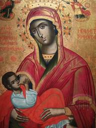 Maria lactans ikon