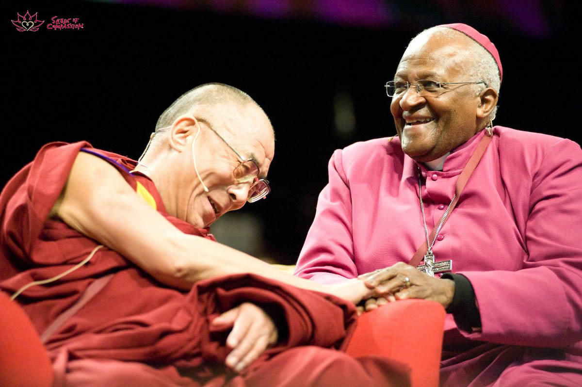 Desmond Tutu And The Dalai Lama On Religion God Is Not A
