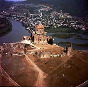 Jvari Monastery overlooking Mtskheta