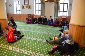 Meeting at Adjarian mosque