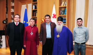 Saakashvili reception