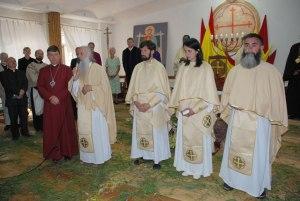 Three bishops ordained