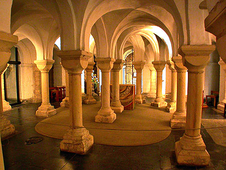 Crypt-Canterbury Cathedral