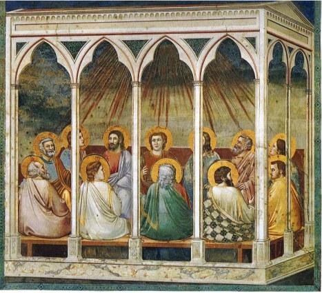 Pentecost ikon - Giotto