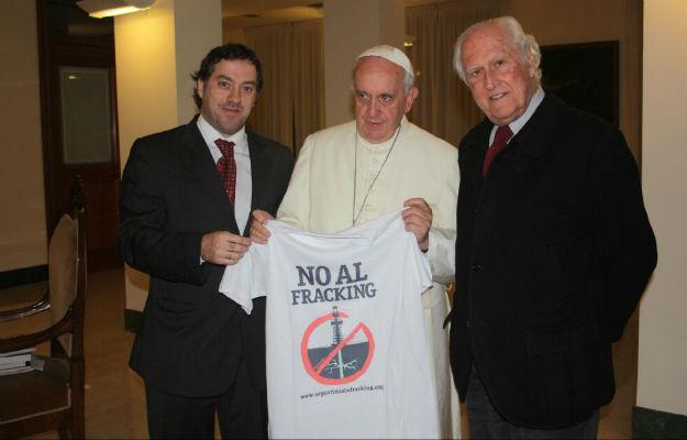 Pope Francis Against Fracking