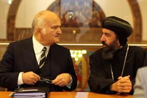 Prince Bin Tatal & Bishop Angaelos