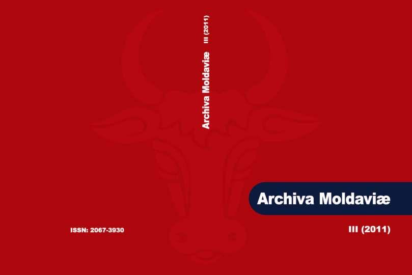 Archiva Moldaviae 2011