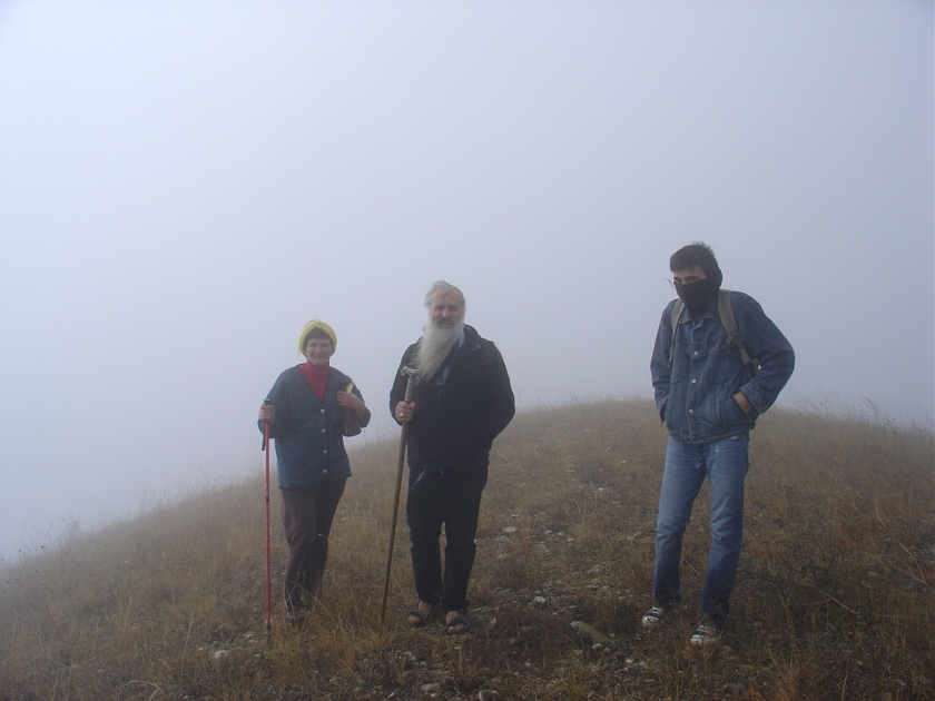 2007-11 - Malkhaz on 'Sinai'