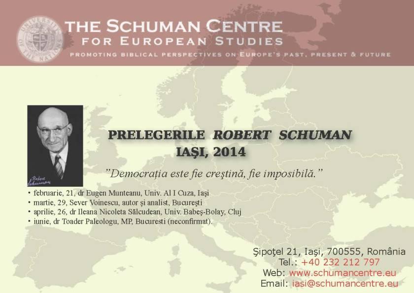 Prelegerile Robert Schuman