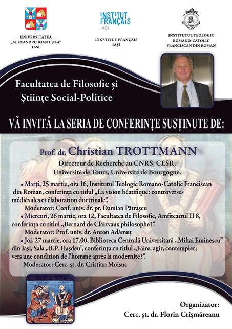 afis conferinte Ch. Trottmann