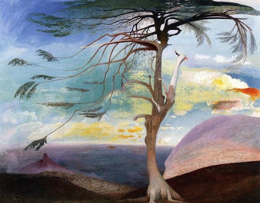 Csontvary - Lonely Cedar