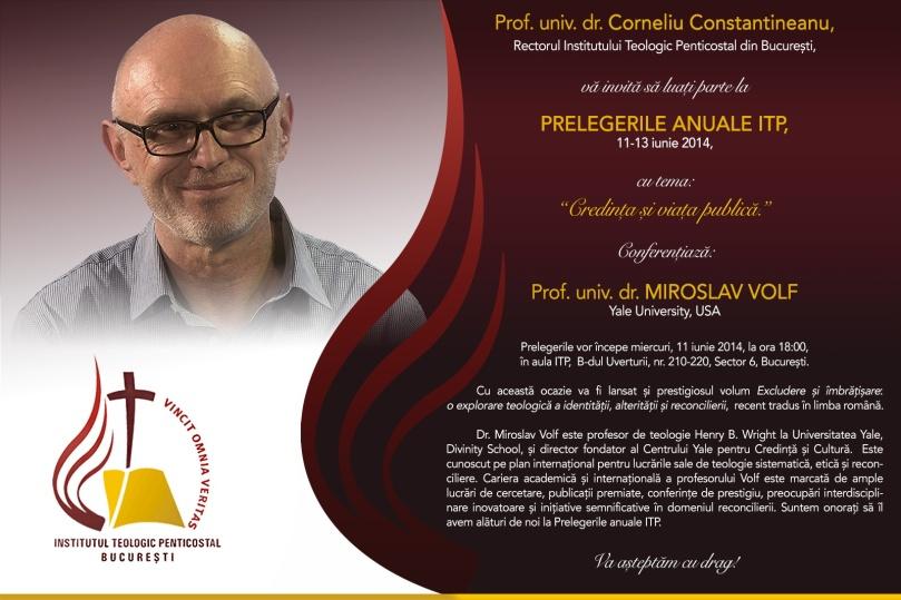 Invitatie_Prelegeri anuale ITP 2014_Volf