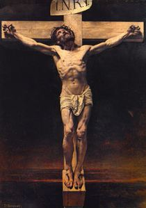 Leon Bonnat: The Crucifiction (Source: Wikimedia)