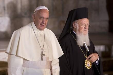 Pope Francis & Ecumenical Patriarch Bartholomew I