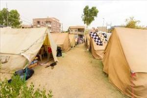 Iraqi refugee camp