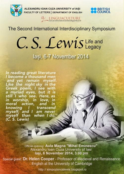 Afis Simpozion CS Lewis