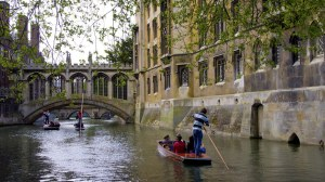 Cambridge - St. John's College Bridge