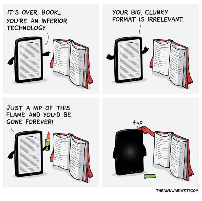 Kindle vs Book