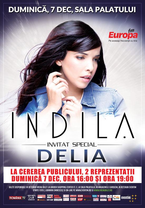 Indila in Romania