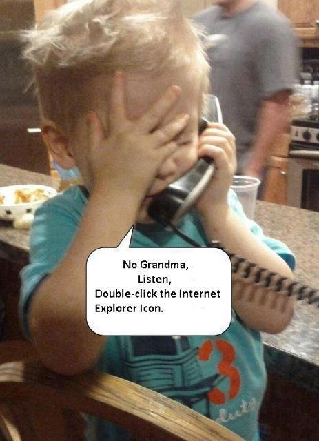 No. Grandma