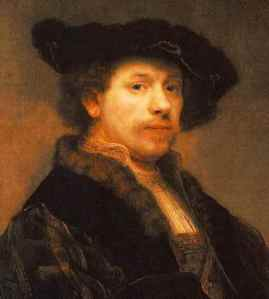 Rembrandt - self-portrait3