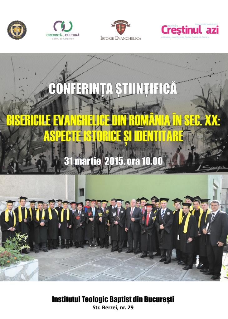 Afis Conferinta ITBB - martie 2015