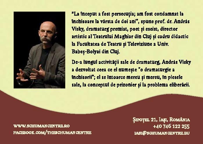 Invitatie Andras Visky - verso