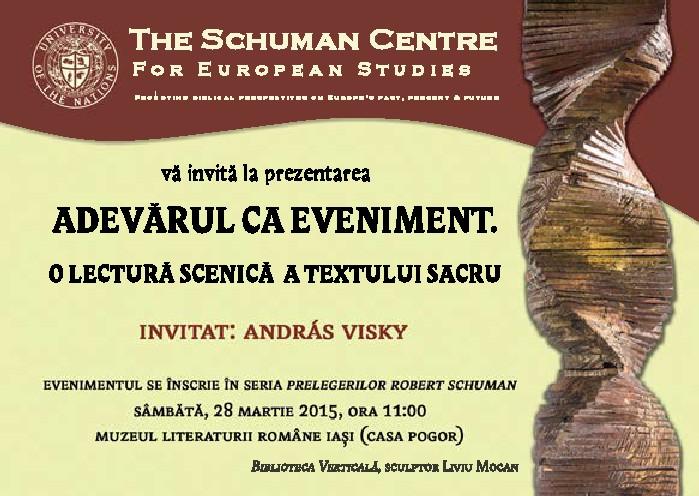 Invitatie Andras Visky