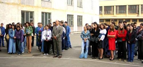 Ceremonie de deschidere a scolii