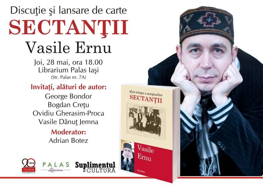 Lansare - Vasile Ernu, Sectantii
