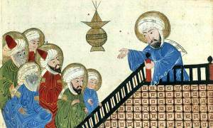 Muhammad Preaching