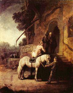 Rembrandt - Bunul samaritean (sursa)