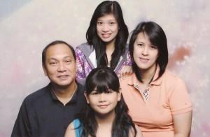 Ronald Paras & family
